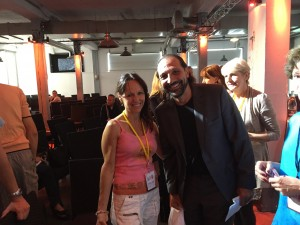 Nassim Haramein et Carine du blog zen-et-heureuse